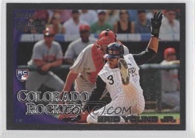 2010 Topps Black 59 Years of Collecting #51 - Eric Young /59