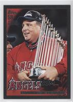 California Angels Team (Mike Scioscia) /59