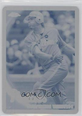 2010 Topps Chrome - [Base] - Printing Plate Cyan #127 - Jayson Werth /1