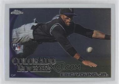 2010 Topps Chrome - [Base] #171 - Eric Young