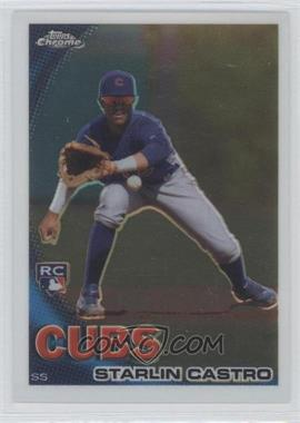 2010 Topps Chrome - [Base] #195 - Starlin Castro