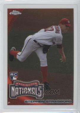 2010 Topps Chrome - [Base] #212 - Stephen Strasburg