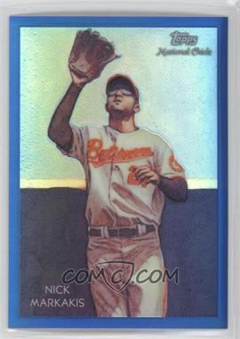 2010 Topps Chrome - National Chicle Chrome - Blue Refractor #CC24 - Nick Markakis /199