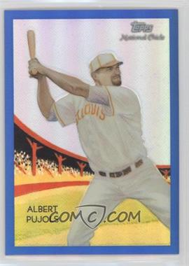 2010 Topps Chrome - National Chicle Chrome - Blue Refractor #CC50 - Albert Pujols /199