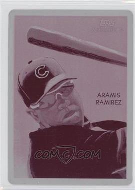2010 Topps Chrome - National Chicle Chrome - Printing Plate Magenta #CC20 - Aramis Ramirez /1