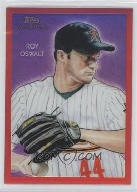 2010 Topps Chrome - National Chicle Chrome - Red Refractor #CC29 - Roy Oswalt /25
