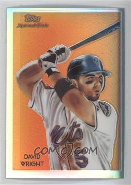 2010 Topps Chrome - National Chicle Chrome - Refractor #CC11 - David Wright /499