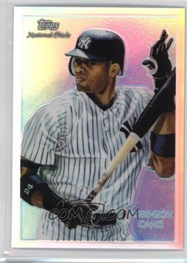 2010 Topps Chrome - National Chicle Chrome - Refractor #CC17 - Robinson Cano /499