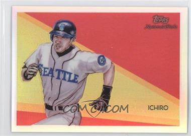 2010 Topps Chrome - National Chicle Chrome - Refractor #CC47 - Ichiro Suzuki /499
