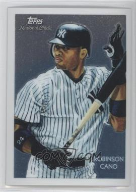 2010 Topps Chrome - National Chicle Chrome #CC17 - Robinson Cano /999