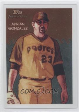 2010 Topps Chrome - National Chicle Chrome #CC18 - Adrian Gonzalez /999