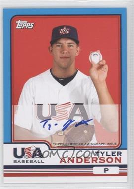 2010 Topps Chrome - Team USA Autographs #USA-1 - Tyler Anderson