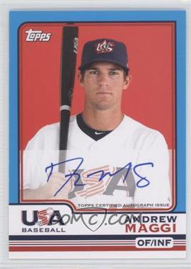 2010 Topps Chrome - Team USA Autographs #USA-10 - Andrew Maggi
