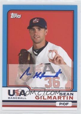 2010 Topps Chrome - Team USA Autographs #USA-7 - Sean Gilmartin