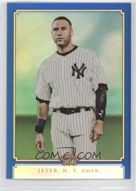 2010 Topps Chrome - Topps 206 Chrome - Blue Refractor #TC30 - Derek Jeter /199