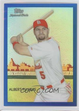 2010 Topps Chrome National Chicle Chrome Blue Refractor #CC1 - Albert Pujols /199