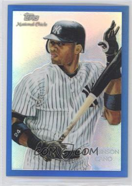 2010 Topps Chrome National Chicle Chrome Blue Refractor #CC17 - Robinson Cano /199