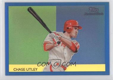 2010 Topps Chrome National Chicle Chrome Blue Refractor #CC44 - Chase Utley /199