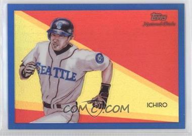 2010 Topps Chrome National Chicle Chrome Blue Refractor #CC47 - Ichiro Suzuki /199