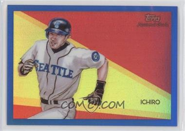 2010 Topps Chrome National Chicle Chrome Blue Refractor #CC47 - Ichiro Suzuki /199