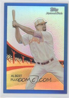 2010 Topps Chrome National Chicle Chrome Blue Refractor #CC50 - Albert Pujols /199