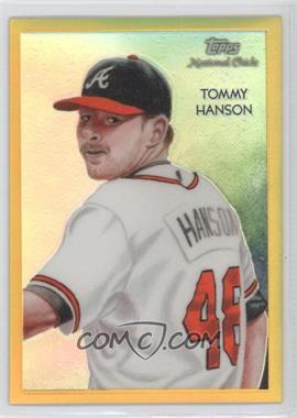 2010 Topps Chrome National Chicle Chrome Gold Refractor #CC37 - Tommy Hanson /50