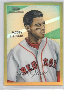 2010 Topps Chrome National Chicle Chrome Gold Refractor #CC8 - Jacoby Ellsbury /50