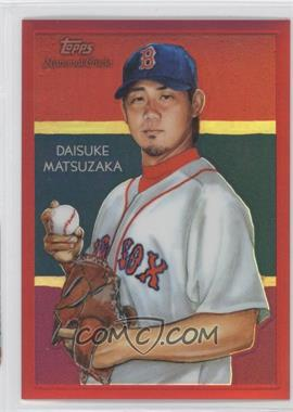 2010 Topps Chrome National Chicle Chrome Red Refractor #CC4 - Daisuke Matsuzaka /25