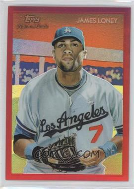 2010 Topps Chrome National Chicle Chrome Red Refractor #CC5 - James Loney /25