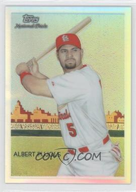 2010 Topps Chrome National Chicle Chrome Refractor #CC1 - Albert Pujols /499
