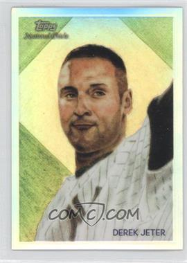 2010 Topps Chrome National Chicle Chrome Refractor #CC12 - Derek Jeter /499