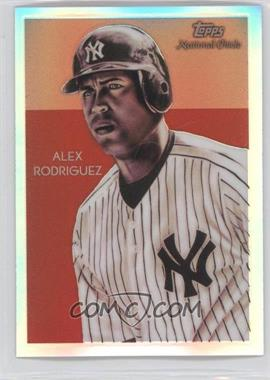 2010 Topps Chrome National Chicle Chrome Refractor #CC21 - Alex Rodriguez /499