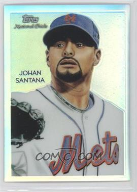 2010 Topps Chrome National Chicle Chrome Refractor #CC22 - Johan Santana /499