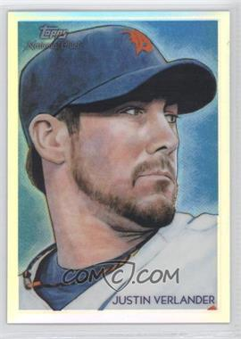 2010 Topps Chrome National Chicle Chrome Refractor #CC25 - Justin Verlander /499