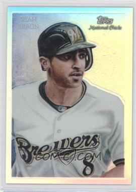2010 Topps Chrome National Chicle Chrome Refractor #CC30 - Ryan Braun /499