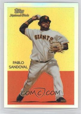 2010 Topps Chrome National Chicle Chrome Refractor #CC33 - Pablo Sandoval /499
