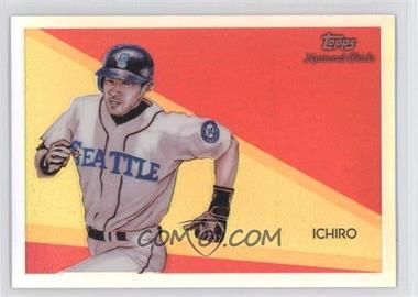 2010 Topps Chrome National Chicle Chrome Refractor #CC47 - Ichiro Suzuki /499
