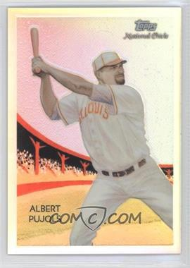 2010 Topps Chrome National Chicle Chrome Refractor #CC50 - Albert Pujols /499