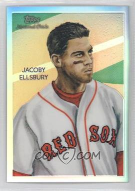 2010 Topps Chrome National Chicle Chrome Refractor #CC8 - Jacoby Ellsbury /499