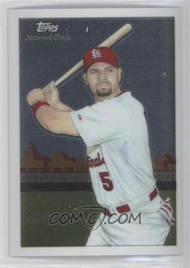2010 Topps Chrome National Chicle Chrome #CC1 - Albert Pujols /999