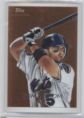 2010 Topps Chrome National Chicle Chrome #CC11 - David Wright /999