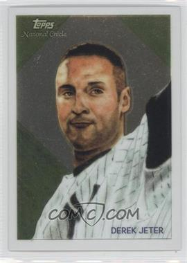 2010 Topps Chrome National Chicle Chrome #CC12 - Derek Jeter /999