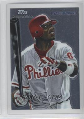 2010 Topps Chrome National Chicle Chrome #CC13 - Ryan Howard /999