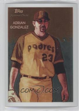 2010 Topps Chrome National Chicle Chrome #CC18 - Adrian Gonzalez /999