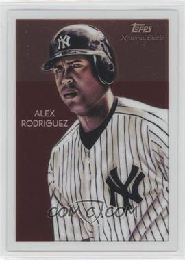 2010 Topps Chrome National Chicle Chrome #CC21 - Alex Rodriguez /999