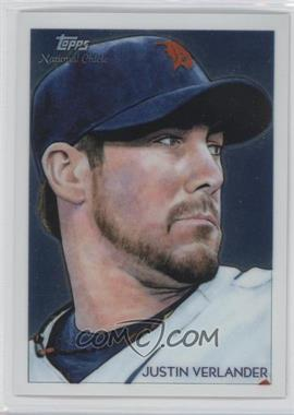 2010 Topps Chrome National Chicle Chrome #CC25 - Justin Verlander /999