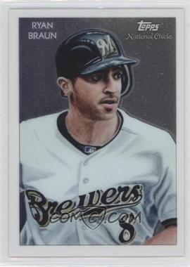 2010 Topps Chrome National Chicle Chrome #CC30 - Ryan Braun /999