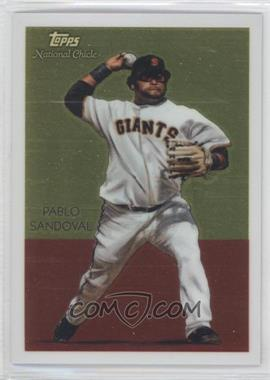 2010 Topps Chrome National Chicle Chrome #CC33 - Pablo Sandoval /999