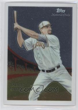 2010 Topps Chrome National Chicle Chrome #CC50 - Albert Pujols /999