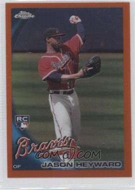 2010 Topps Chrome Orange Refractor #174 - Jason Heyward